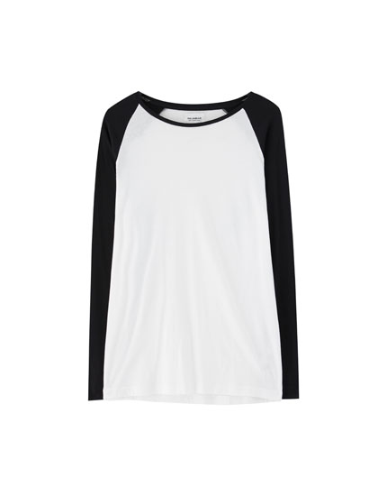 Reglan uzun kollu t-shirt