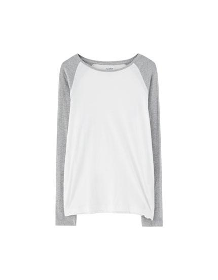 Camiseta manga larga ranglan