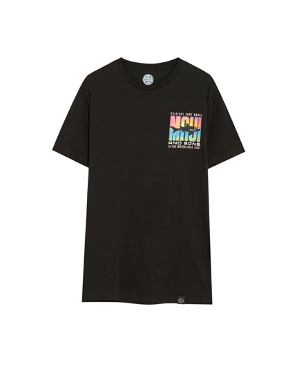 Camiseta Maui and Sons negra