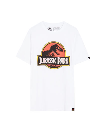 Short sleeve Jurassic Park T-shirt