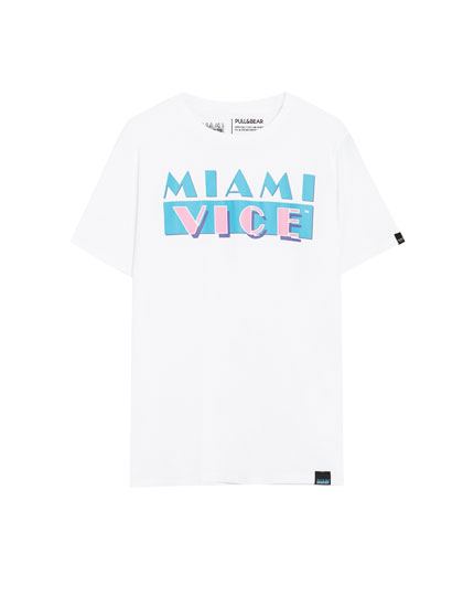 Miami Vice logo T-shirt