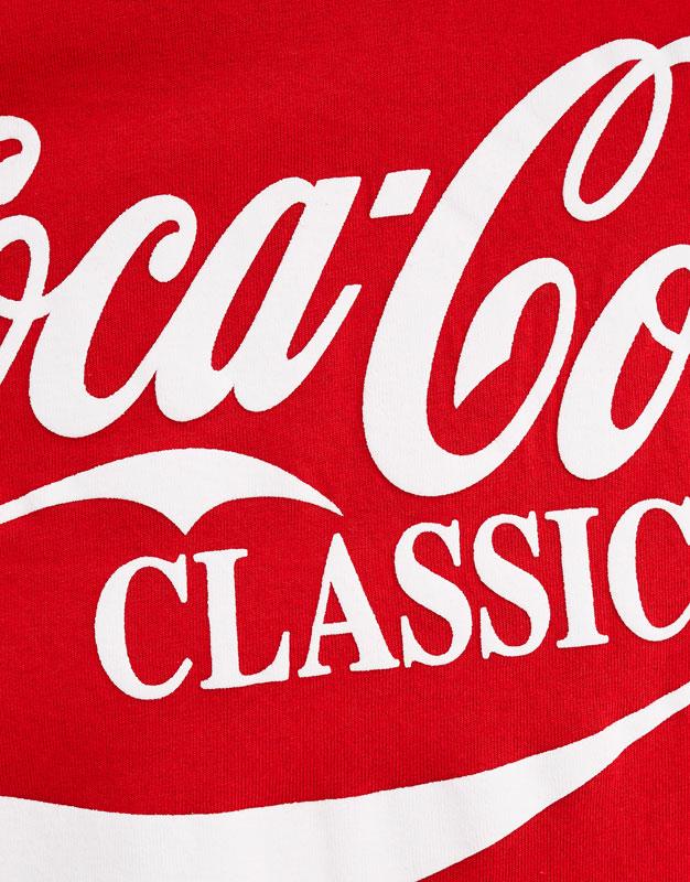 44bf41e9 Coca Cola Logo Classic T Shirt amazon best seller Source · Coca Cola  Classic T shirt PULL&BEAR