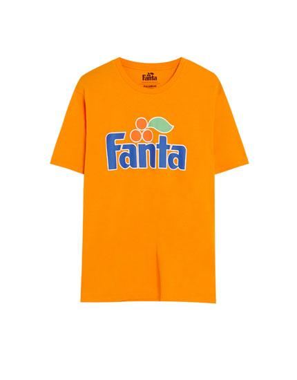 T-shirt met Fanta-logo