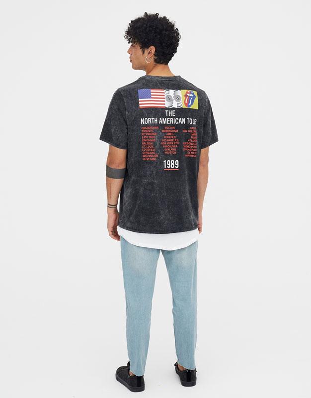 rolling-stones-multi-logo-t-shirt by pull-&-bear