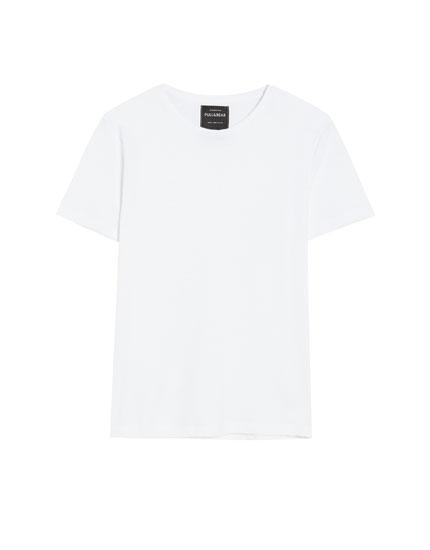 Camiseta manga corta estructura