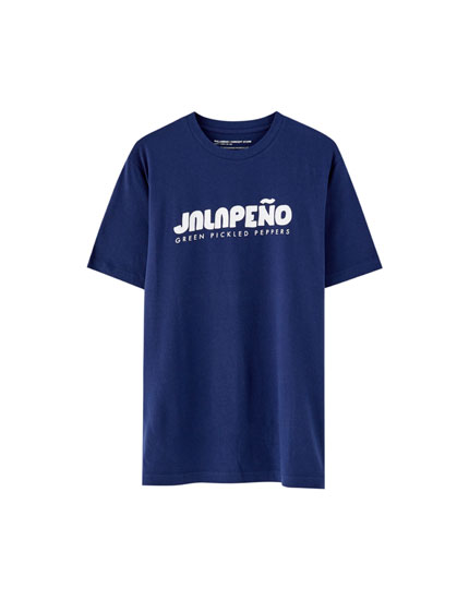Blue 'Jalapeño' T-shirt