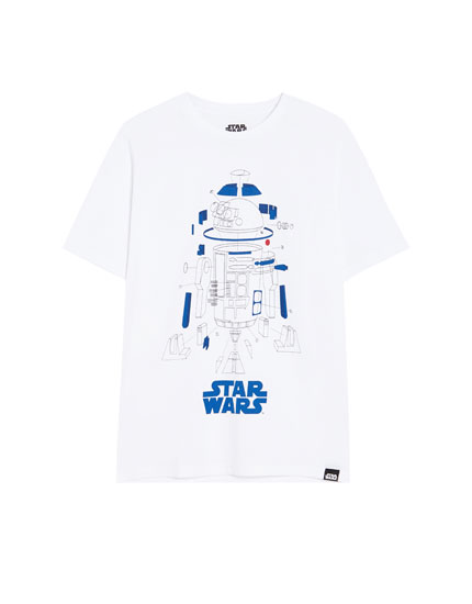 Playera manga corta Star Wars R2-D2