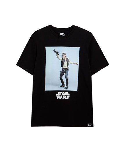 T-shirt manga curta Star Wars Han Solo