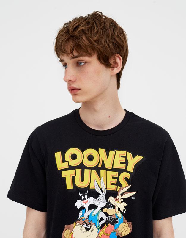 T Shirt Met Korte Mouw Looney Tunes by Pull & Bear