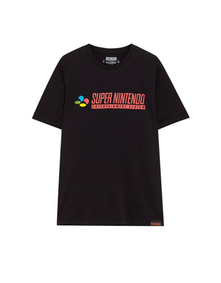 Short sleeve Super Nintendo T-shirt