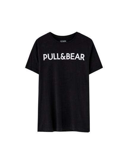 T-shirt met P&B logo