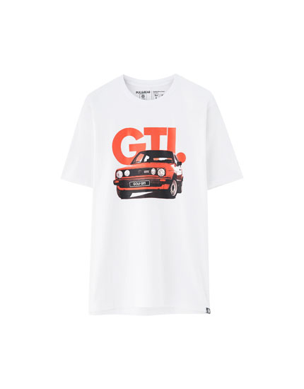Camiseta Golf GTI retro