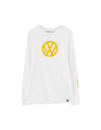 Long sleeve T-shirt with the Volkswagen logo