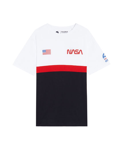 T-shirt med NASA-logo