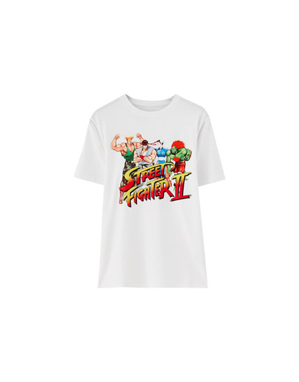 T-shirt Street Fighter