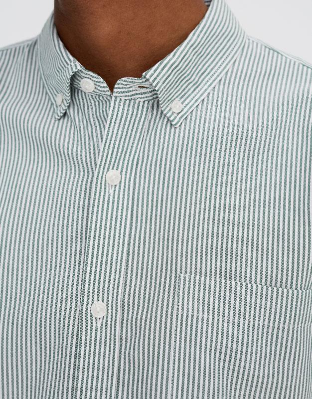 Pull & Bear - Langarm-Oxfordhemd - 3