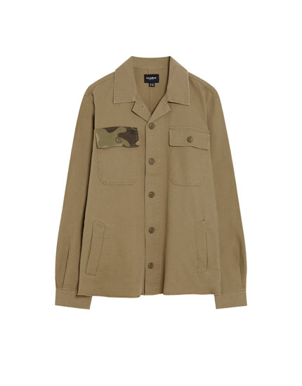 Overshirt worker camuflaj