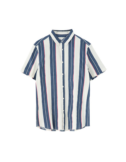 Gestreept vintage T-shirt