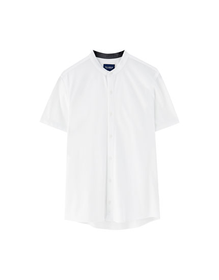 Short sleeve piqué shirt