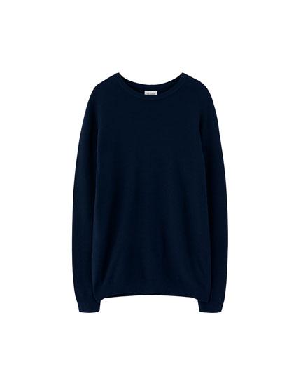Sweater básico estructura fina