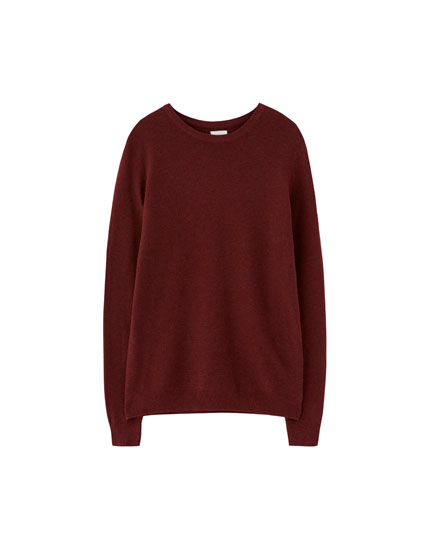 Basic fine knit sweater