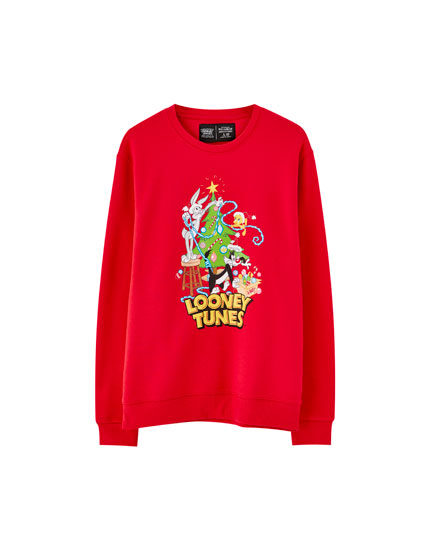 Looney Tunes Christmas sweatshirt