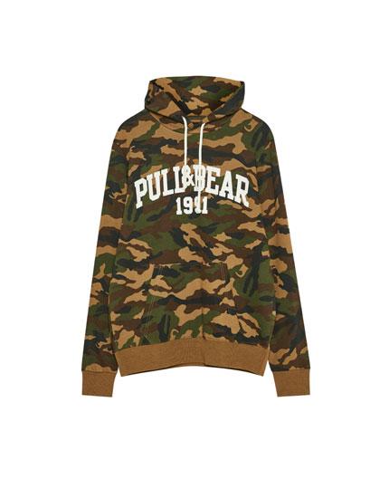 Sudadera logo Pull&Bear