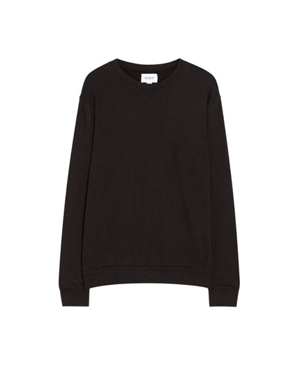 Sweat basic col rond