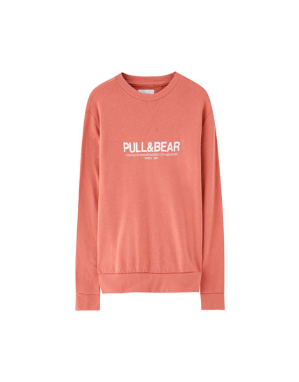 Basic-Sweatshirt mit Logo