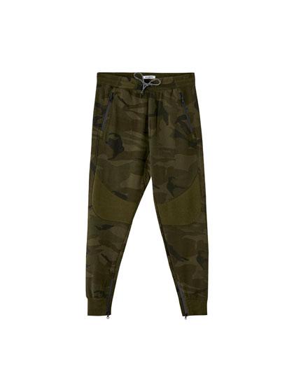 Pantalón pants camuflaje