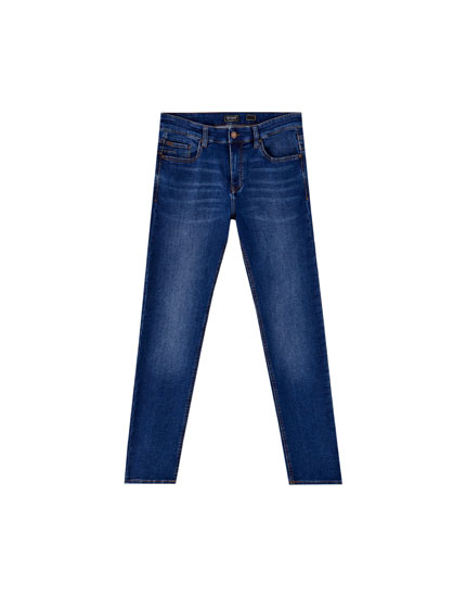 Super skinny fit jeans med blød finish
