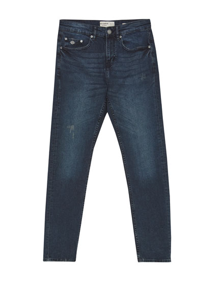 Dark slim fit comfort jeans