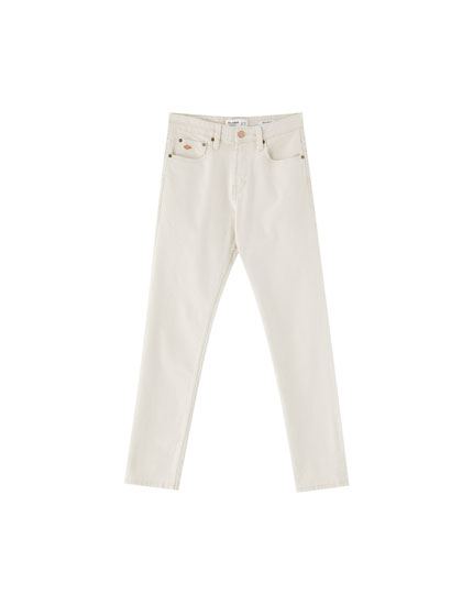 Regular denim broek comfort fit