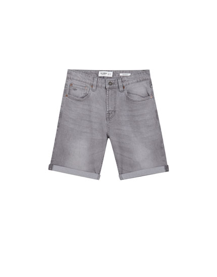 Bermudashorts im Regular-Comfort-Fit