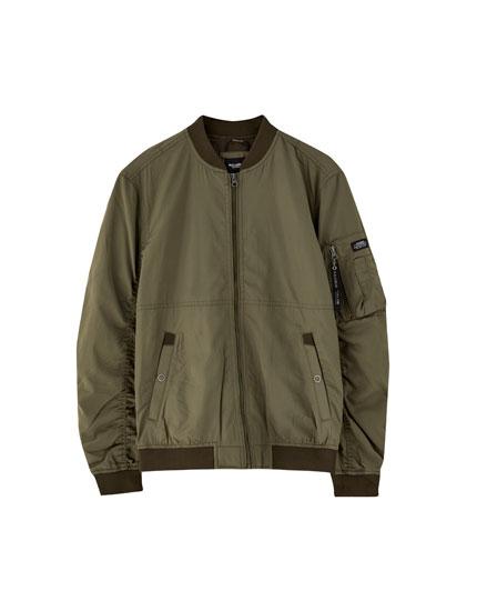 Basic bomber ceket