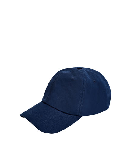 Basic blue cap