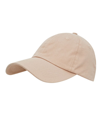 Basecap in Beige