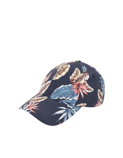 Gorra estampado flores