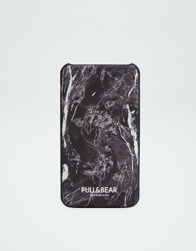 Powerbank Stampa Effetto Marmo by Pull & Bear