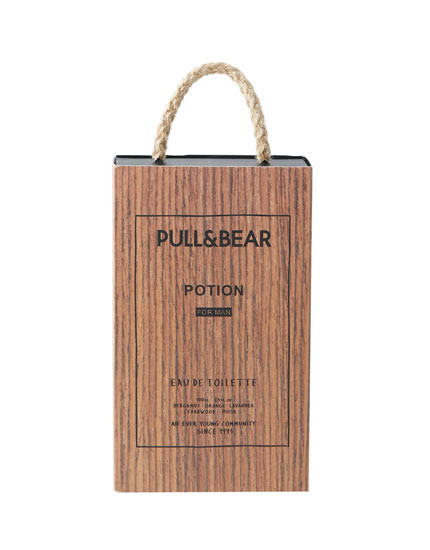 Eau de toilette pull & bear potion man 100 ml