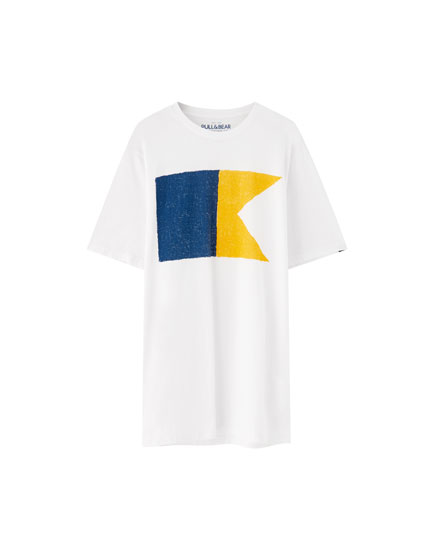 Nautical flag T-shirt