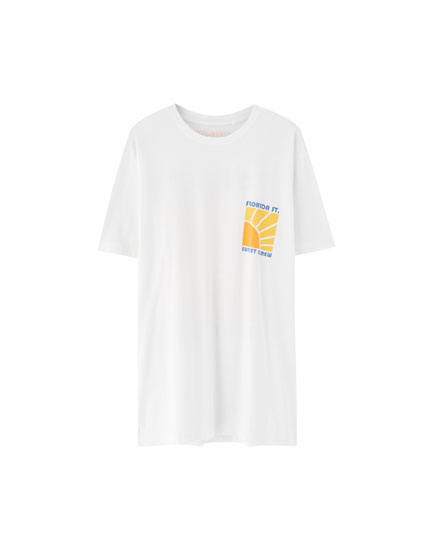 T-shirt coton sunset