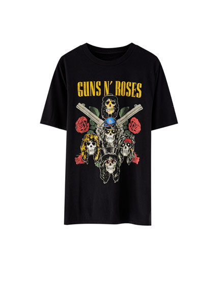 T-shirt met Guns N' Roses tour