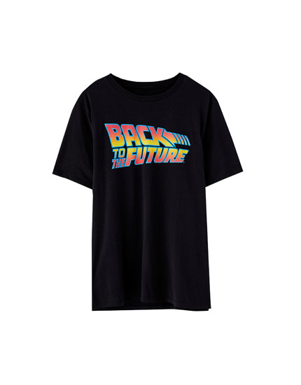 'Back to the Future' logo T-shirt