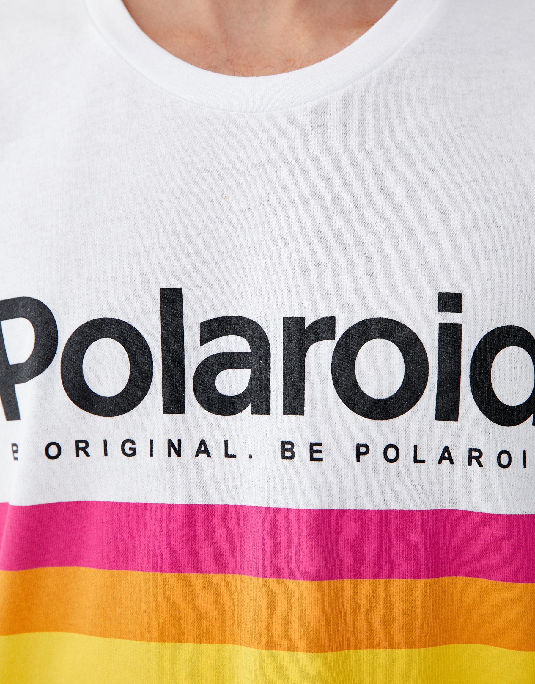 a38025704 Pull & Bear 'Polaroid' logo T-shirt at £14.99 | love the brands