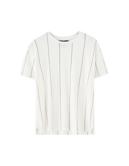 Camiseta rayas verticales