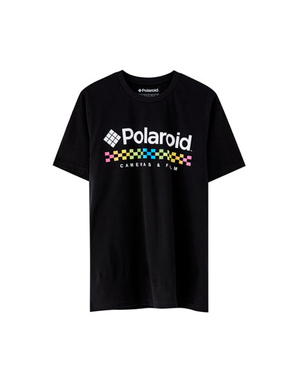 Playera Polaroid logo