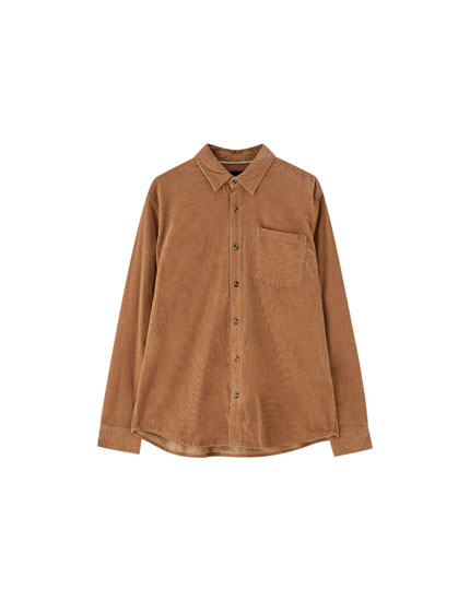 Basic corduroy shirt