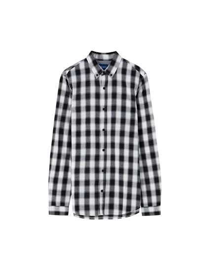 Basic gingham shirt