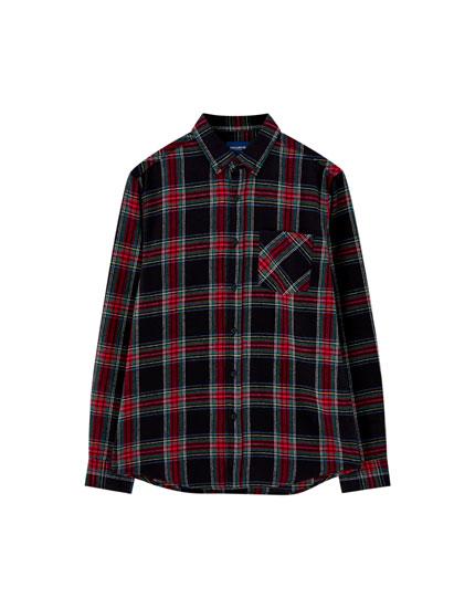 Camisa quadre tartà